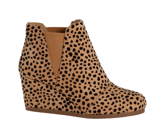 City Classified Shoes Within in Cheetah