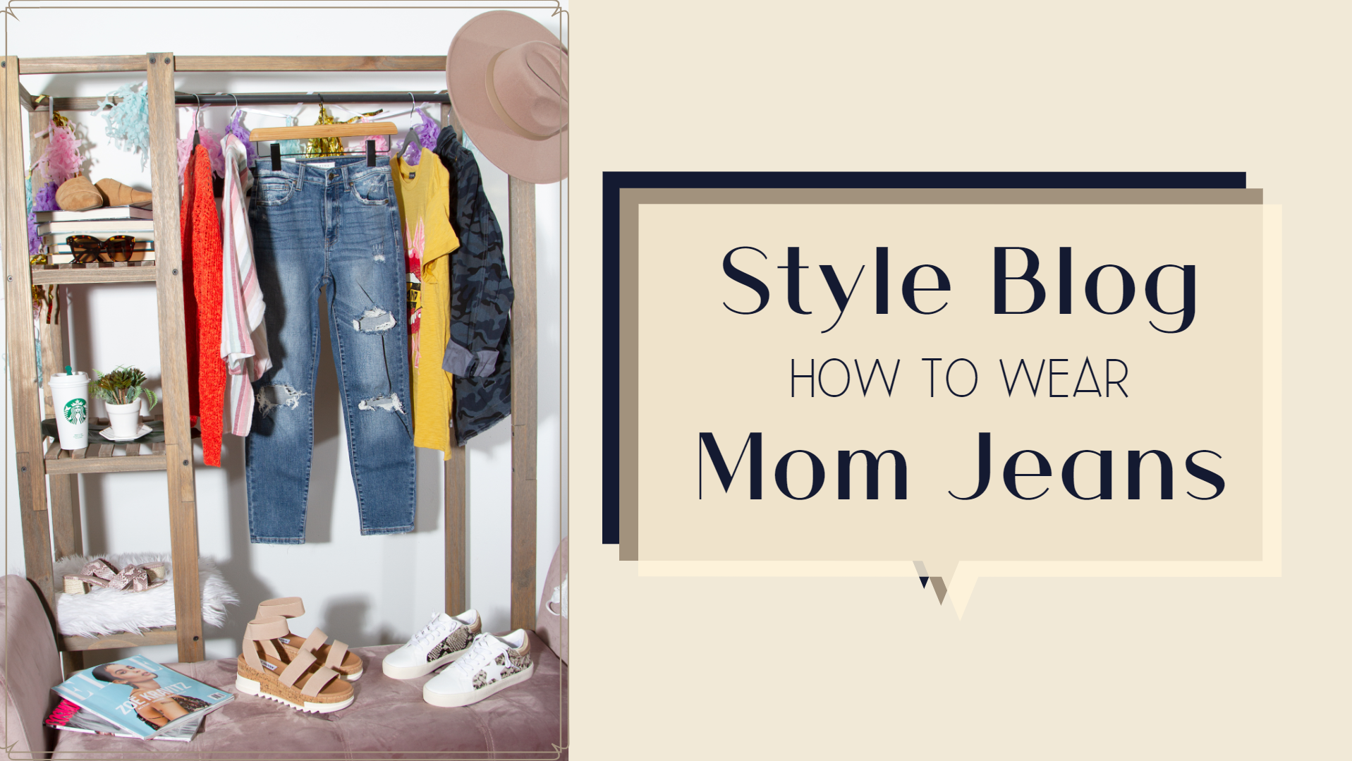 Style Blog: How to Style Mom Jeans