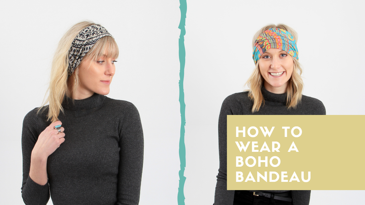 How to Wear a Boho Bandeau