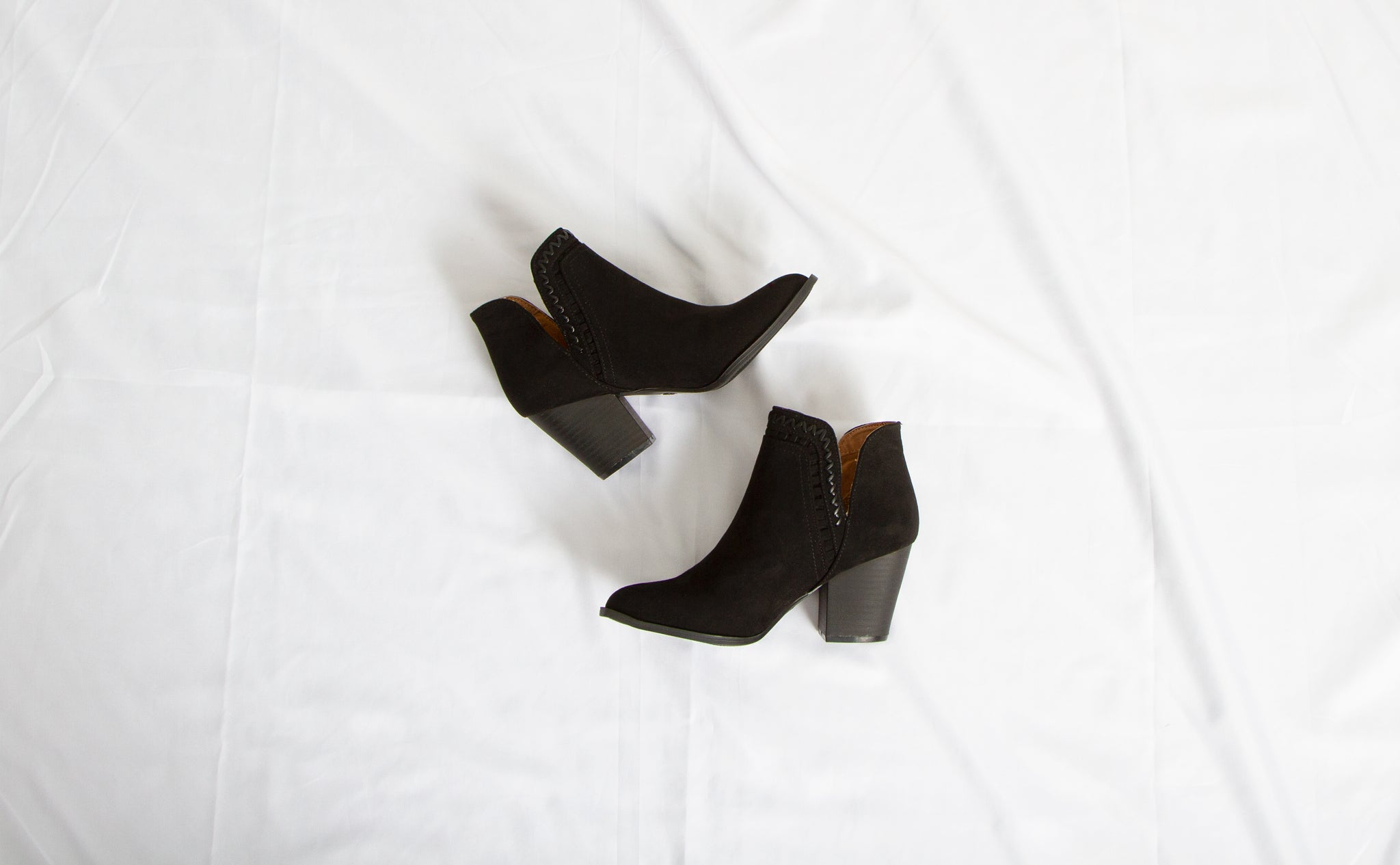 Qupid Shoes Prenton Ankle Booties