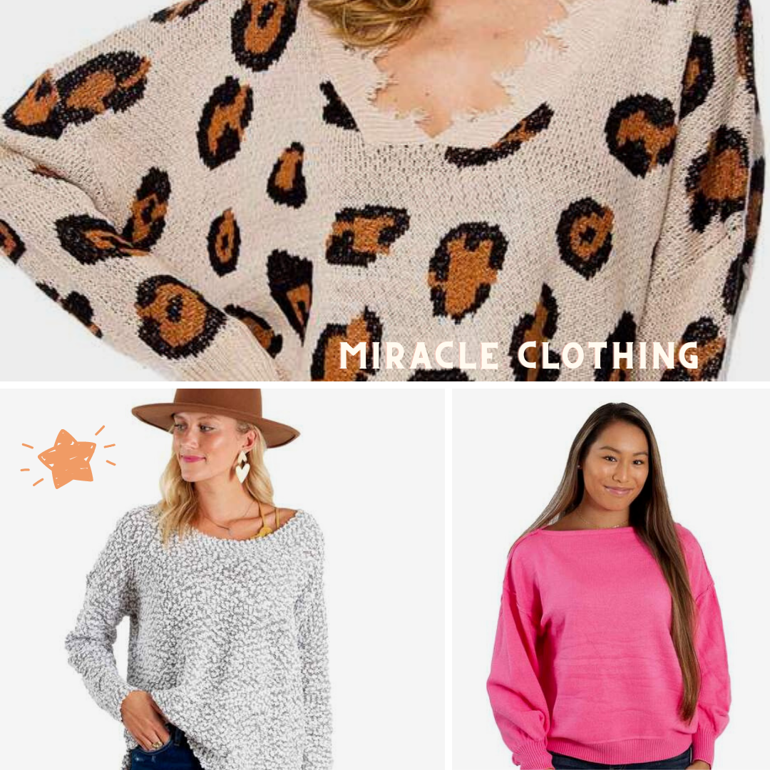 Miracle Clothing Sweaters