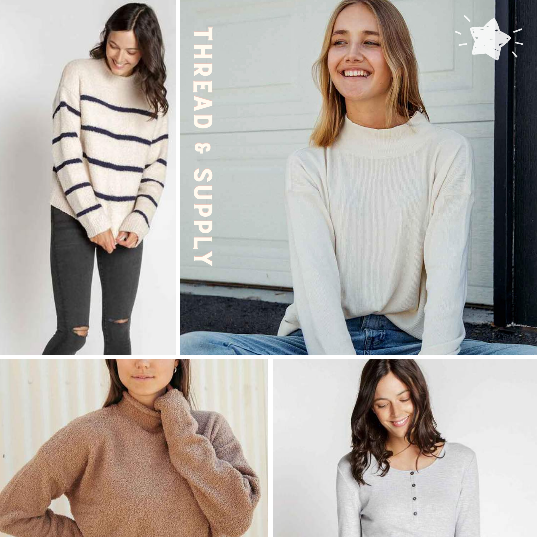 Thread and Supply Sweaters