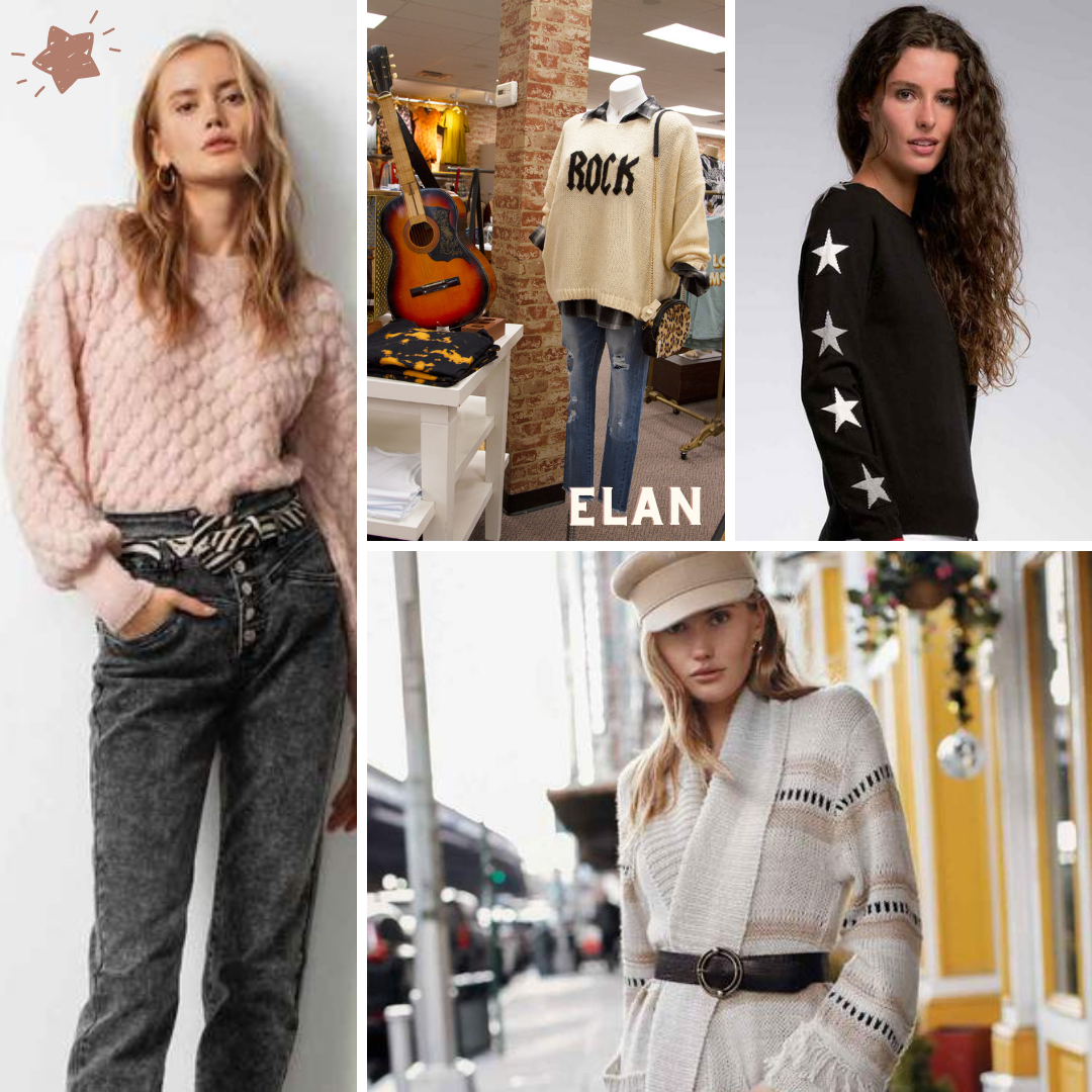Elan Clothing Sweaters