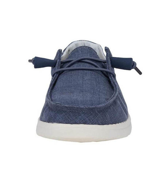 Hey Dude Shoes Women's Wendy Chambray Shoes in Navy