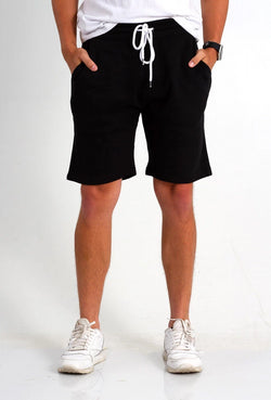 1897 Fleece Shorts for Men in Black