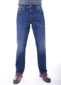 Mens Axel Bobby Athletic Jeans for Men in Trumball