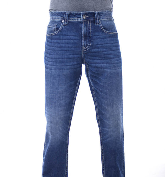 Mens Axel Beau Athletic Jeans for Men in Trumball