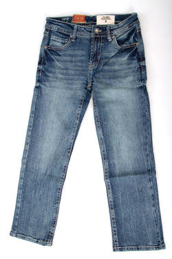 TK Axel Jeans Sam Classic Straight Leg Jeans for Boys in Light Wash