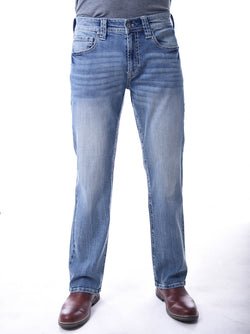 Mens Axel Sam Classic Straight Jeans for Men in Sierra