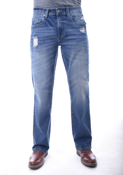 Axel Davis Classic Straight Jeans for Men in Tunxis