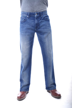 Mens Axel Stephen Slim Boot Jean for Men in Rockville