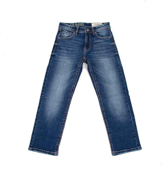 TK Axel Jeans James Straight Leg Medium Wash Jeans for Boys