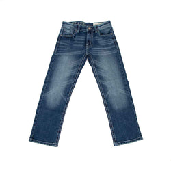 TK Axel Jeans Rockville Straight Leg Dark Wash Jeans for Boys