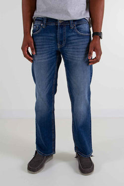 Axel Jeans James Classic Straight Jeans for Men in Rockport