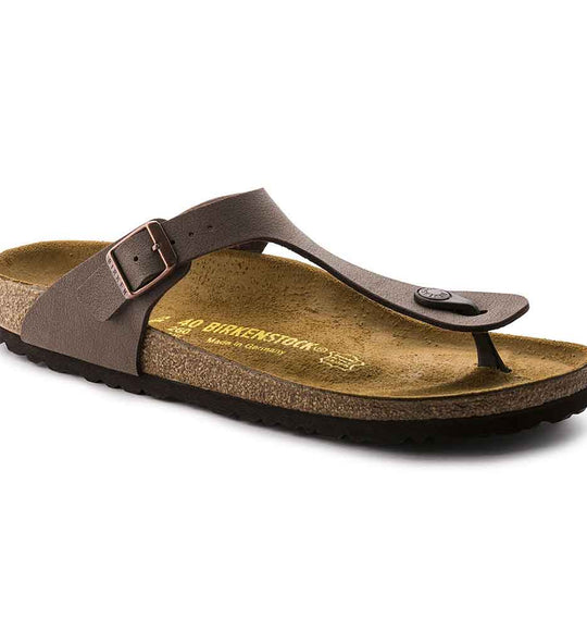 Birkenstock Gizeh Sandals for Women in Mocha