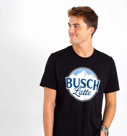 Brew City Busch Latte T-Shirt for Men in Black