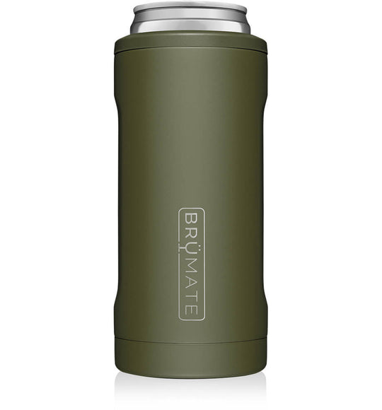 Brumate 12 oz Hopsulator Slim in Green