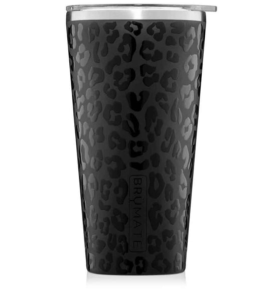 BrüMate 20 oz Imperial Pint Tumbler in Onyx Leopard
