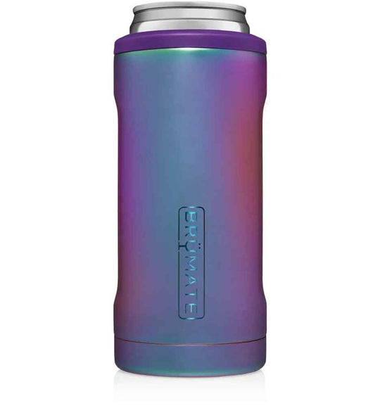 BrüMate 12 oz Hopsulator Slim Can Cooler in Dark Aura