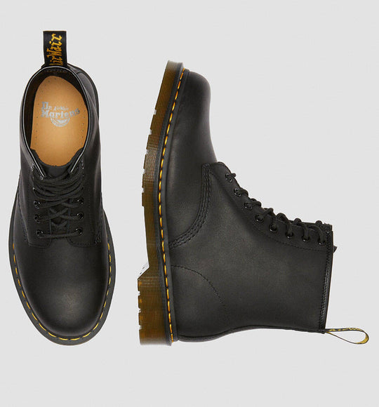 Dr. Martens 1460 Greasy Boots in Black