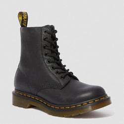 Dr. Martens 1460 Pascal Boots for Women in Black Virginia Leather