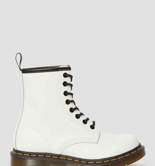 Dr. Martens 1460 Smooth Leather Boots for Women in White