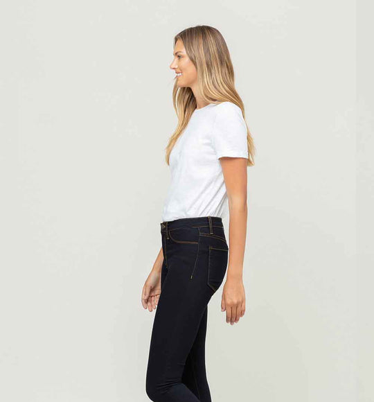 Flying Monkey Jeans High-Waisted Dark Wash Jeggings