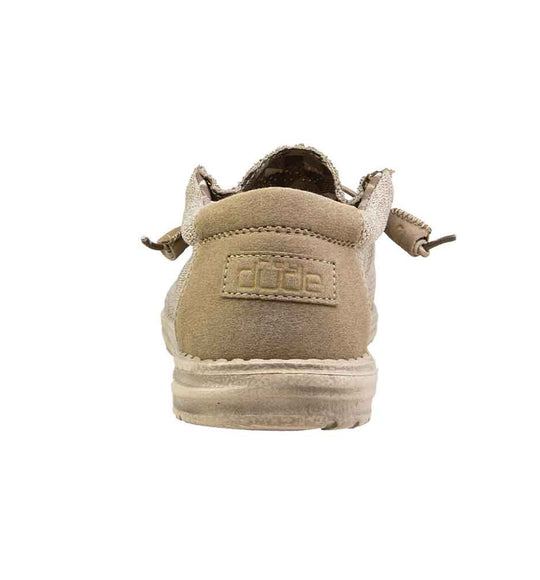 HEY DUDE SHOES WALLY SOX BEIGE 110350500