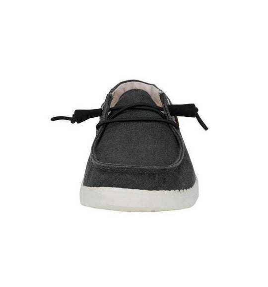 Hey Dude Shoes Women's Wendy Chambray Shoes in Black
