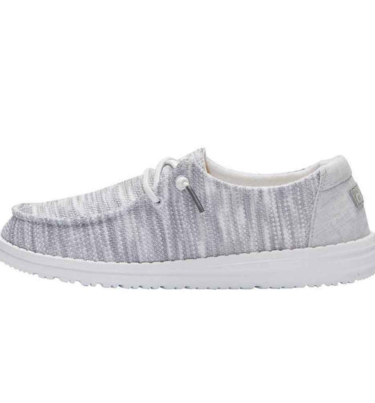 Hey Dude Shoes Women's Wendy Sox Shoes in Glacier Grey