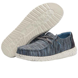 Hey Dude Shoes Women's Wendy Sox Shoes in Ice Blue