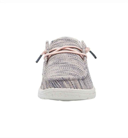 Hey Dude Shoes Women's Wendy Sox Shoes in Light Pink
