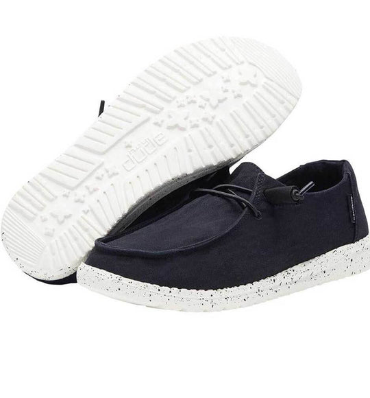Hey Dude Shoes Women's Wendy Linen Shoes in Black