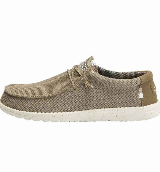 Hey Dude Shoes Men's Wally Sox Shoes in Sand