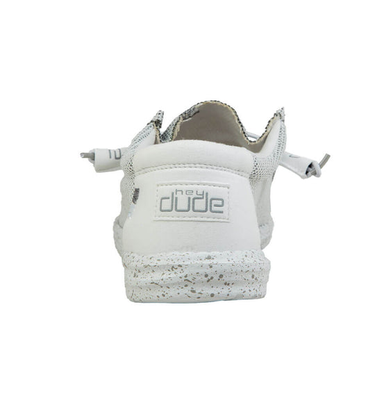 Hey Dude Shoes Men's Wally Sox Shoes in Stone White