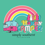 Simply Southern Long Sleeve Happy T-Shirt for Women in Aruba