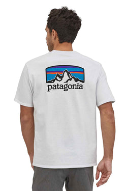 Patagonia Fitz Roy Horizons Responsibili-Tee for Men in White