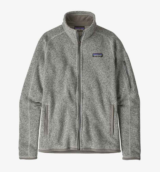 Patagonia Women's Better Sweater Fleece Jacket in Birch White