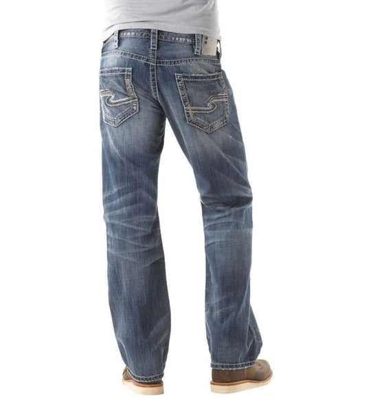 Silver Jeans Zac Relaxed Straight for Men M42408LD191