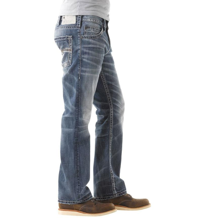 b4543bf7 Silver Jeans Zac Relaxed Straight for Men | M42408LD191 – Glik's