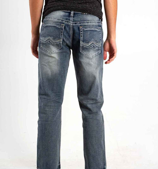 True Luck Jeans Peter Boot Cut Jeans for Men in Full Blast