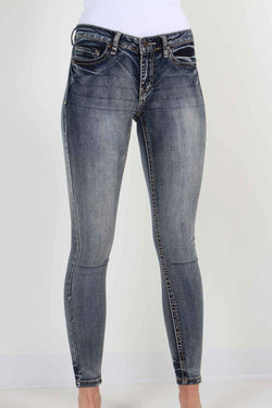 True Luck Jeans Ramsey Skinny Jeans in Full Blast for Women