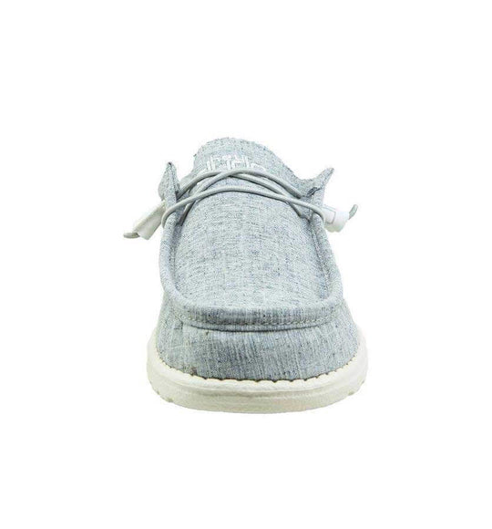 Hey Dude Shoes Men's Wally Shoes in Chambray Blue