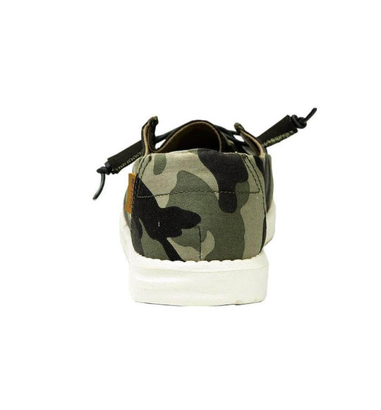 Hey Dude Shoes Women's Wendy Shoes in Camo