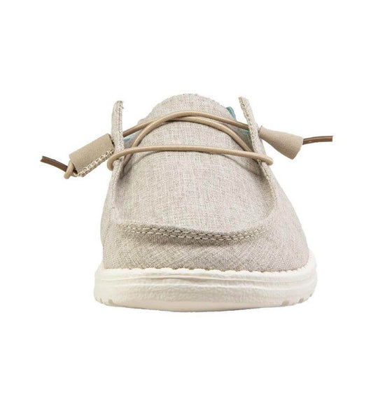 Hey Dude Shoes Women's Wendy Linen Shoes in Beige