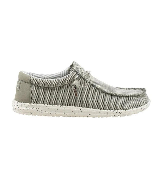 Hey Dude Shoes Men's Wally Sox Funk Shoes in Ash Grey
