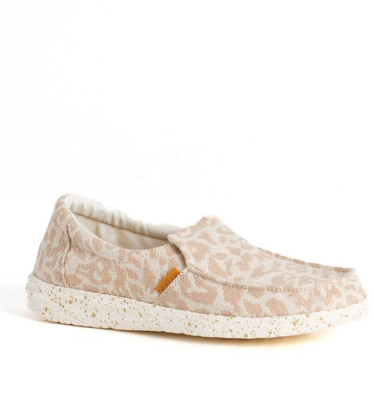 Hey Dude Shoes Women's Misty Woven Shoes in Cheetah