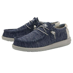 Hey Dude Shoes Men's Wally Sox Shoes in Moonlit Ocean