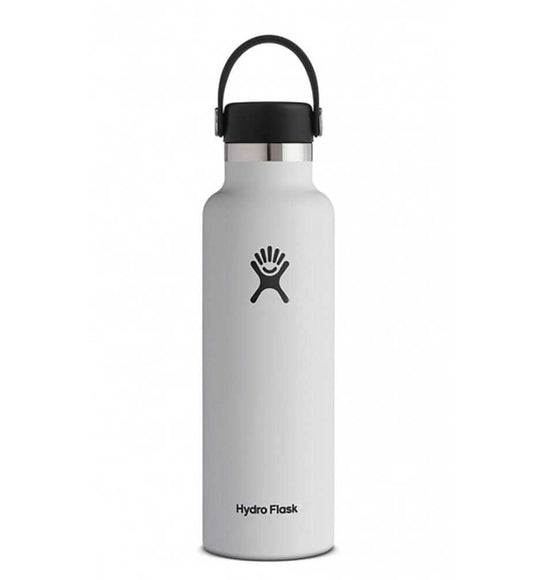 Hydro Flask 21 oz Standard Mouth Bottle in White | S21SX110-WHT