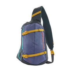Patagonia Atom 8L Sling Bag in Patchwork Smolder Blue